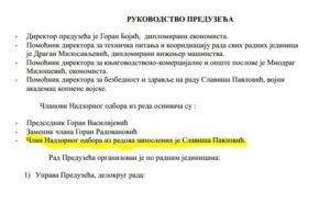 Профил предузећа КЈП Морава из 2015 године